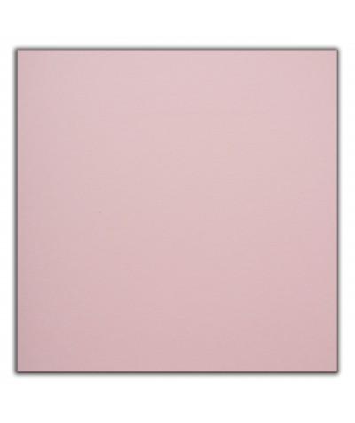 О23021 Открытка 16Х16 двойная Перламутровая Розовая с Конвертом