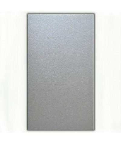 О21015 Открытка двойная серебряная