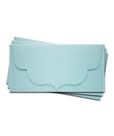 ОК3003 Основа для подарочного конверта №3 комплект 3шт. Цвет светло-голубой матовый