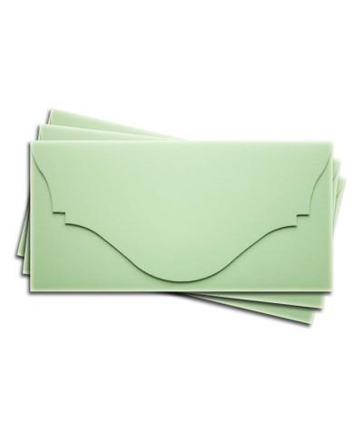 ОК4004 Основа для подарочного конверта №4 комплект 3шт. Цвет светло-зеленый матовый