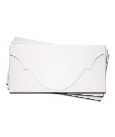 ОК5001 Основа для подарочного конверта №5 комплект 3шт. Цвет белый матовый