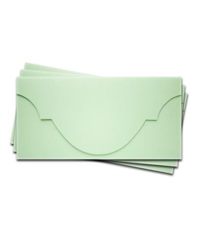 ОК5004 Основа для подарочного конверта №5 комплект 3шт. Цвет светло-зеленый матовый