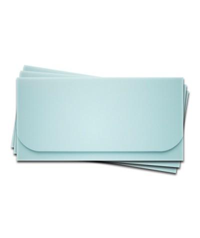 ОК6003 Основа для подарочного конверта №6 комплект 3шт. Цвет светло-голубой матовый