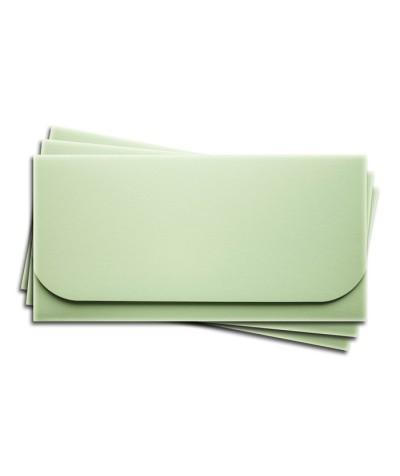 ОК6004 Основа для подарочного конверта №6 комплект 3шт. Цвет светло-зеленый матовый