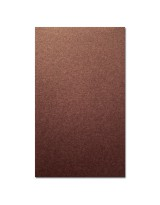 О21016 Открытка двойная коричневая перламутровая