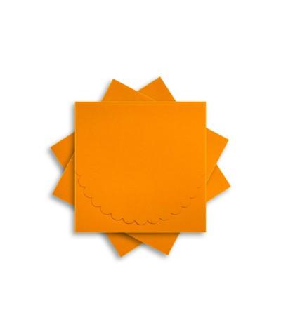 ОКCD1008 Основа для конверта под CD №1 КОМПЛЕКТ 3шт.  Цвет оранжевый матовый