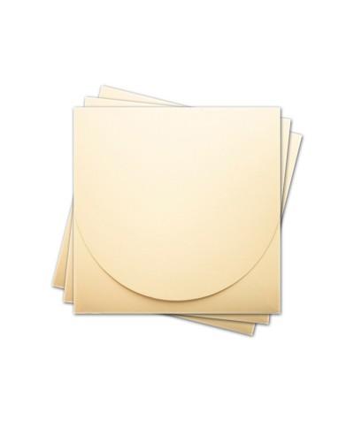ОКCD2002 Основа для конверта под CD №2 КОМПЛЕКТ 3шт.  Цвет кремовый матовый