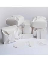 БОН5001-2 Заготовки для бонбоньерок №5 КОМПЛЕКТ 6 шт. Цвет Белый, фактура