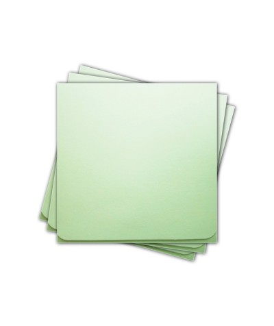ОКCD5004 Основа для конверта под CD №5 КОМПЛЕКТ 3шт.  Цвет светло-зеленый матовый
