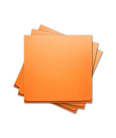 ОКCD5008 Основа для конверта под CD №5 КОМПЛЕКТ 3шт.  Цвет оранжевый матовый