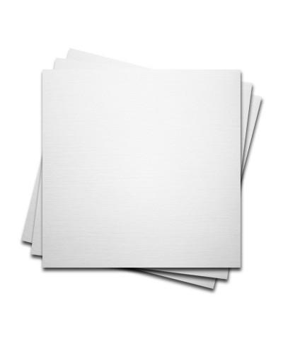 О22001-1 Мини-открытка двойная Белая Фактура