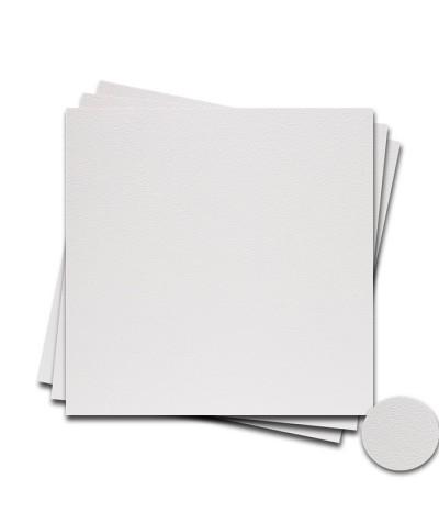 О22001-2 Мини-открытка двойная Белая Фактура