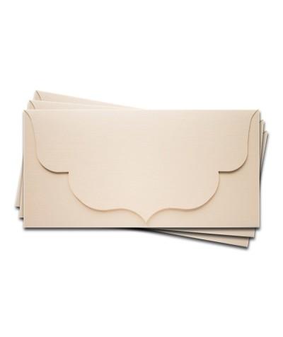 ОК3102 Основа для подарочного конверта №3 комплект 3шт. Цвет Слон.Кость Фактура