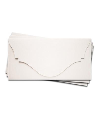 ОК4101 Основа для подарочного конверта №4 комплект 3шт. Цвет белый Фактура