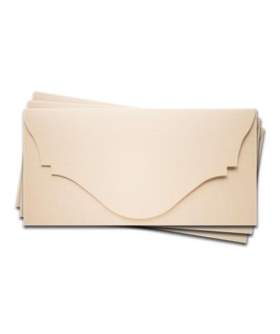 ОК4102 Основа для подарочного конверта №4 комплект 3шт. Цвет Слоно.Кость Фактура