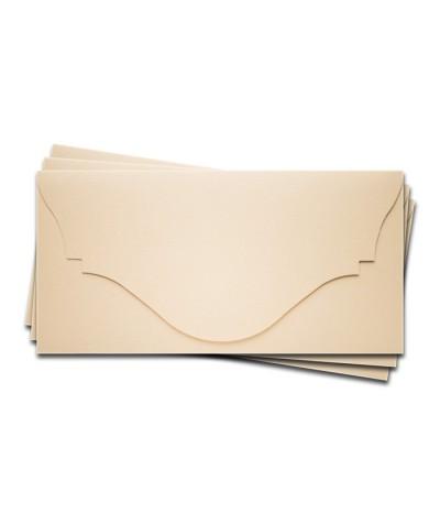 ОК4302 Основа для подарочного конверта №4 комплект 3шт. Цвет Слон.Кость Фактура