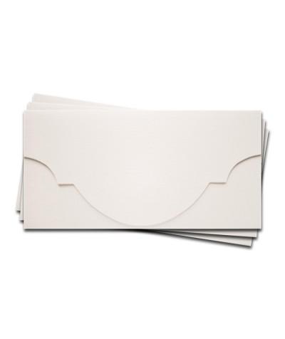 ОК5101 Основа для подарочного конверта №5 комплект 3шт. Цвет белый Фактура