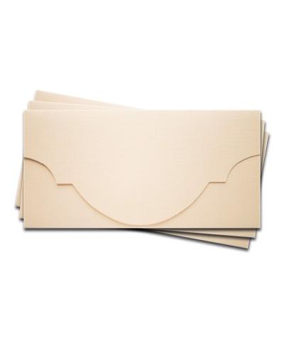 ОК5102 Основа для подарочного конверта №5 комплект 3шт. Цвет Слон.Кость Фактура