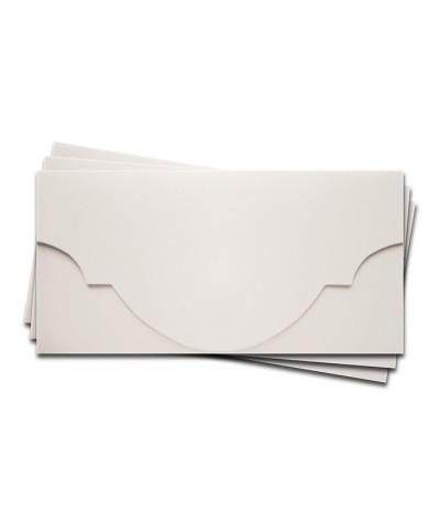 ОК5301 Основа для подарочного конверта №5 комплект 3шт. Цвет белый Фактура