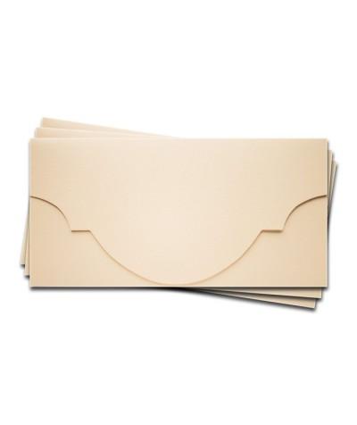 ОК5302 Основа для подарочного конверта №5 комплект 3шт. Цвет Слон.Кость Фактура