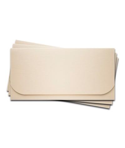 ОК6102 Основа для подарочного конверта №6 комплект 3шт. Цвет Слон.Кость Фактура