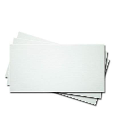 О25001-1 Открытка двойная 9,5Х21см  белая фактура