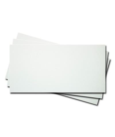 О25001-2 Открытка двойная 9,5Х21см белая фактура