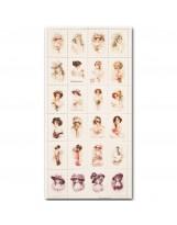 МР001 Набор декоративных марок для творчества