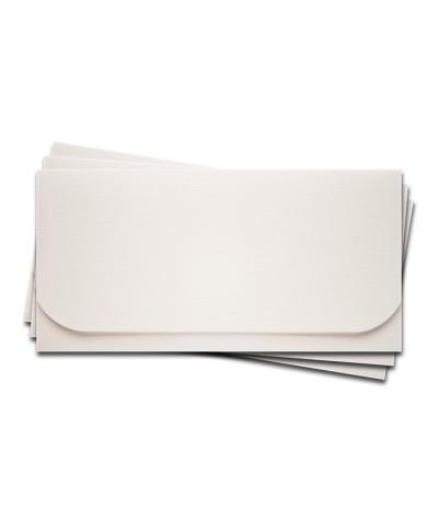 ОК6101-1 Основа для подарочного конверта №6 комплект 3шт. Цвет белый Фактура