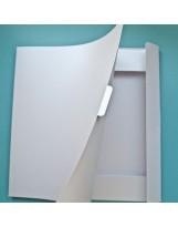 ПДБ003 Папка для хранения скрапбумаги Цвет Белый перламутровый