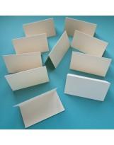 РК1002 Карточки рассадочные 10 шт. Цвет Слоновая кость