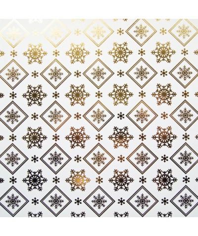 БТ003-31 Бумага Тиснение желтым золотом