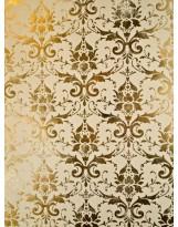 БТ001-35 Бумага Тиснение желтым золотом