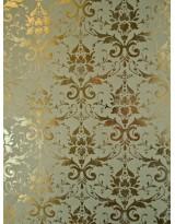 БТ001-36 Бумага Тиснение желтым золотом