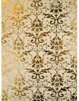 БТ001-32 Бумага Тиснение желтым золотом