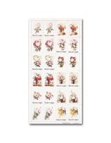 МР004 Набор декоративных марок для творчества