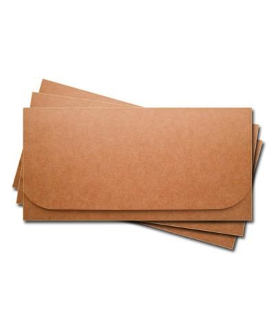 ОК6009 Основа для подарочного конверта №6 комплект 3шт. Крафт