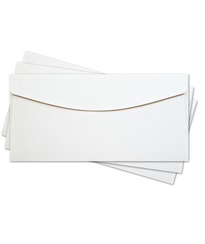 ОКО1101 Конверт для откр 11х22 см КОМПЛ. 3шт.  Цвет белый Фак.