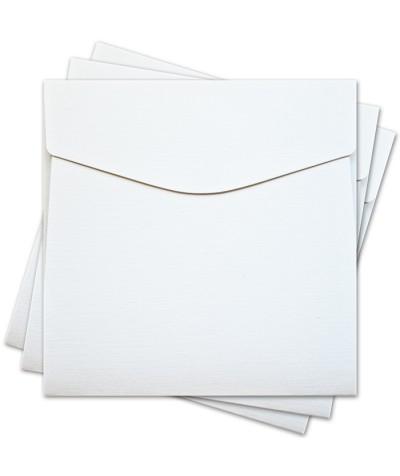 ОКО3101 Конверт для откр 17х17 см КОМПЛ. 3шт.  Цв. белый Факт