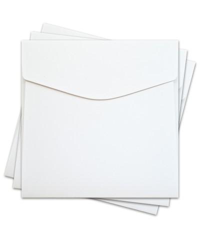 ОКО3201 Конверт для откр 17х17 см КОМПЛ. 3шт.  Цв. белый Факт