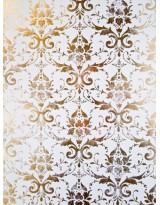 БТ001-33 Бумага Тиснение желтым золотом