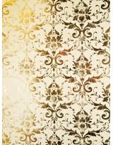 БТ001-34 Бумага Тиснение желтым золотом