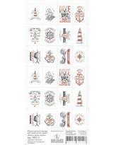 МР012 Набор декоративных марок для творчества