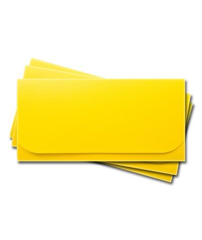 ОК6010 Основа для подарочного конверта №6 комплект 3шт. Цвет лимонный матовый